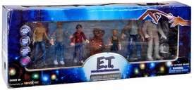 E.T. The Extra-Terrestrial Exclusive 20th Anniversary Limited Edition Figure Collection [Mary, Michael, Elliott, Gertie,