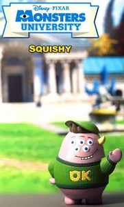 Monsters University Hot Toys 3 Inch Mini Cosbaby Figure Squishy Pre-Order ships August