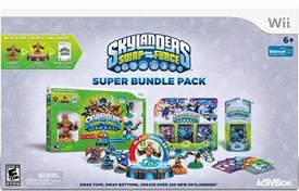 Skylanders SWAP FORCE Exclusive Nintendo Wii Super Bundle Pack