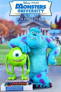 Monsters University Hot Toys Collectibel Vinyl Figure Set Mike & Sulley Pre-Order ships April