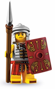 LEGO Minifigure Collection Series 6 LOOSE Mini Figure Roman Soldier