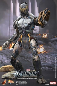 Hot Toys Avengers Movie 1/6 Scale Collectible Figure Chitauri Footsoldier Pre-Order ships October