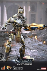 Hot Toys Avengers Movie 1/6 Scale Collectible Figure Chitauri Commander Pre-Order ships July