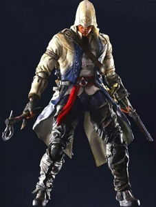 Assassin's Creed III Play Arts Kai Exclusive Action Figure Connor Pre-Order ships April