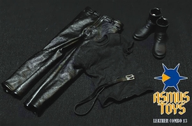 Asmus Toys 1/6 Scale Clothing Set Leather Combo 13