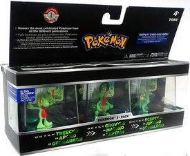 Pokemon Trainer's Choice Mini Figure 3-Pack Treecko, Grovyle & Sceptile