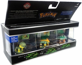 Pokemon Trainer's Choice Mini Figure 3-Pack Turtwig, Grotle & Torterra