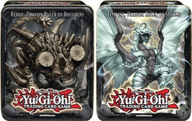 YuGiOh 2013 Set of Both Wave 2 Collector Tins [Redox, Dragon Ruler of Boulders & Tempest, Dragon Ruler of Storms]
