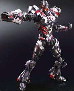 DC Universe Variant Play Arts Kai Action Figure Cyborg Pre-Order ships October
