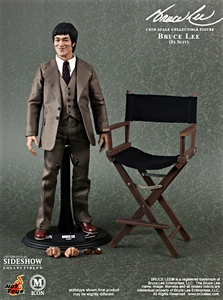 Hot Toys Movie Masterpiece Icon 1/6 Scale Collectible Figure Bruce Lee in 70's Suit