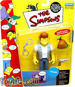 The Simpsons Series 6 Playmates Action Figure Snake