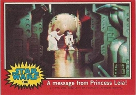 Star Wars 30th Anniversary Topps Red Box Topper Card #106
