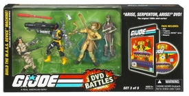 GI Joe Hasbro 25th Anniversary DVD Battle Pack Arise Serpentor Arise