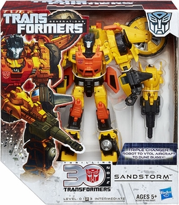 Transformers Generations Voyager Action Figure Sandstorm