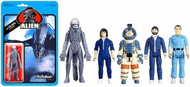 Alien Super 7 ReAction Figure 5-Pack Ripley, Dallas, Kane, Ash & Alien Pre-Order ships March
