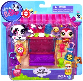 Littlest Pet Shop Playset Sweet Drop Shop