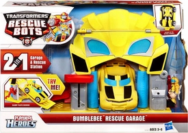 Transformers Rescue Bots Playset Bumblebee Rescue Garage