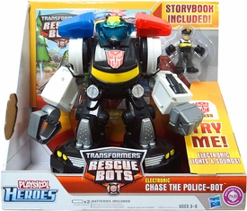 Transformers Rescue Bots Electronic Chase The Police-Bot
