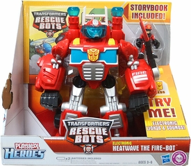 Transformers Rescue Bots Electronic Heatwave The Fire-Bot