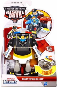 Transformers Rescue Bots Action Figure Chase The Police-Bot