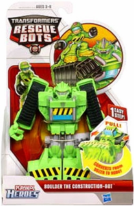 Transformers Rescue Bots Action Figure Boulder The Construction Bot