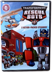 Transformers Promo DVD Transformers: Rescue Bots