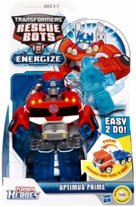 Transformers Rescue Bots Energize Playskool Heroes Action Figure Optimus Prime
