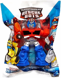 Transformers Rescue Bots Playskool Heroes Mini Figure Optimus Prime [Bagged]