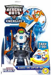 Transformers Rescue Bots Energize Playskool Heroes Action Figure Blades the Copter-Bot