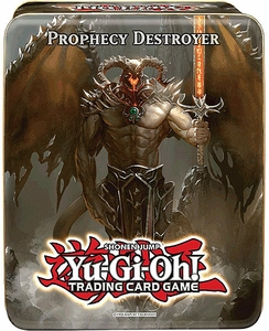 YuGiOh 2012 Wave 2.5 Collector Tin Set Prophecy Destroyer [Endless Decay, Steelswarm Roach, Photon Strike Bounzer & Infernity Barrier]