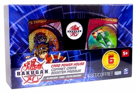 Bakugan Battle Brawlers Game Card Power House [In Collector Box Case!]