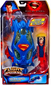 Man of Steel Movie Flight Speeders Launcher Solar Force