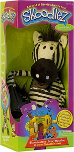 Skoodlez Zebra Plush Toy with Samoleez Coin Dooney