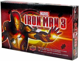 Upper Deck Iron Man 3 Movie Trading Cards Box [24 Packs] New!