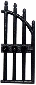LEGO Accessories & Stuff LOOSE Accessory Black Gate with Three Studs