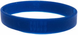 Official NFL Team Rubber Bracelet Indianapolis Colts [Blue]