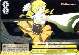 Weiss Schwarz ENGLISH Madoka Magica Single Card Climax Common E020 Tiro Finale