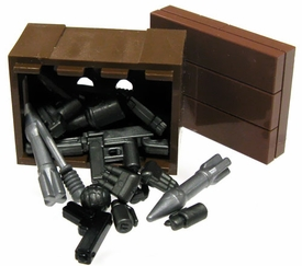 BrickArms LEGO Custom Supply Crate [Guns, Ammo, Grenades & More!] GREAT VALUE!
