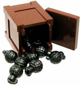 BrickArms LEGO Custom Pineapple Express [Crate & 9 Grenades!]