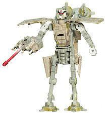 Star Wars 30th Anniversary Saga 2007 Transformers Action Figure AT-AT Driver to AT-AT