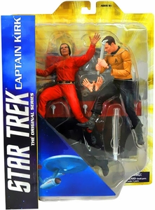 Star Trek Diamond Select Action Figure 2-Pack Captain James T. Kirk Vs. Khan [Space Seed]