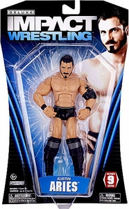 TNA Wrestling Deluxe Impact Series 9 Action Figure Austin Aries