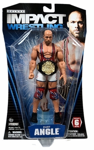 TNA Wrestling Deluxe Impact Series 6 Action Figure Kurt Angle