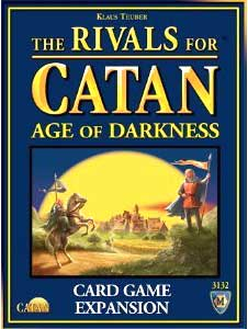 Mayfair Games The Rivals for Catan Board Game Age of Darkness Expansion