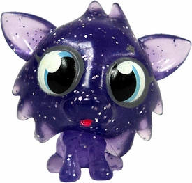 Moshi Monsters Moshlings 1.5 Inch Series 1 Mini Figure Cosmic White Fang [Sparkly Purple]