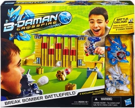 B-Daman Crossfire Playset Break Bomber Battlefield Set