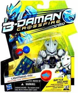 B-Daman Crossfire Figure BD-02 Lightning Fin [Rapid-Fire Type]