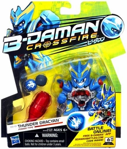 B-Daman Crossfire Figure BD-01 Thunder Dracyan [Power Type]
