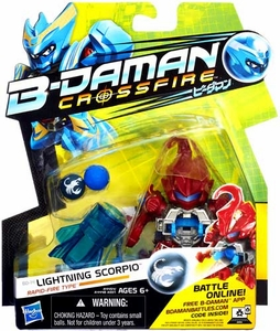 B-Daman Crossfire Figure BD-14 Lightning Scorpio [Rapid-Fire Type]