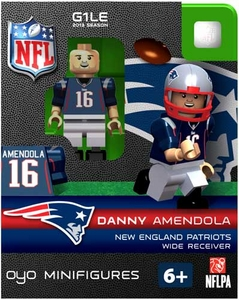 OYO Football NFL Building Brick Minifigure Danny Amendola [New England Patriots]